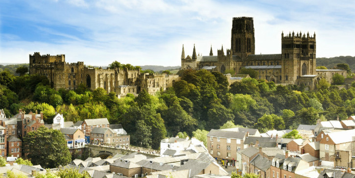 Durham Cathedral skyline