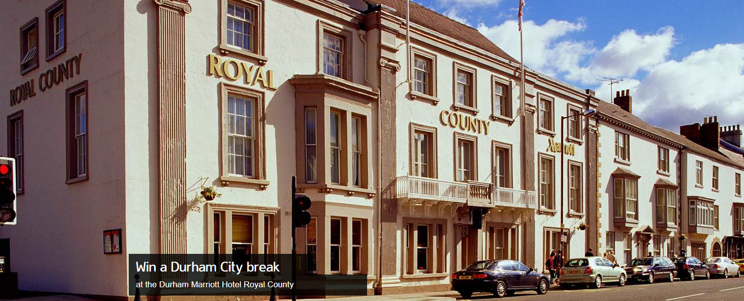 Banner to win a city break in Durham with Marriott Hotels