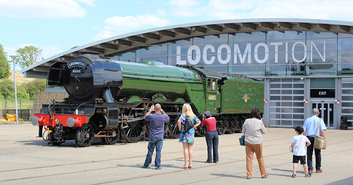 The Flying Scotsman at Locomotion Museum