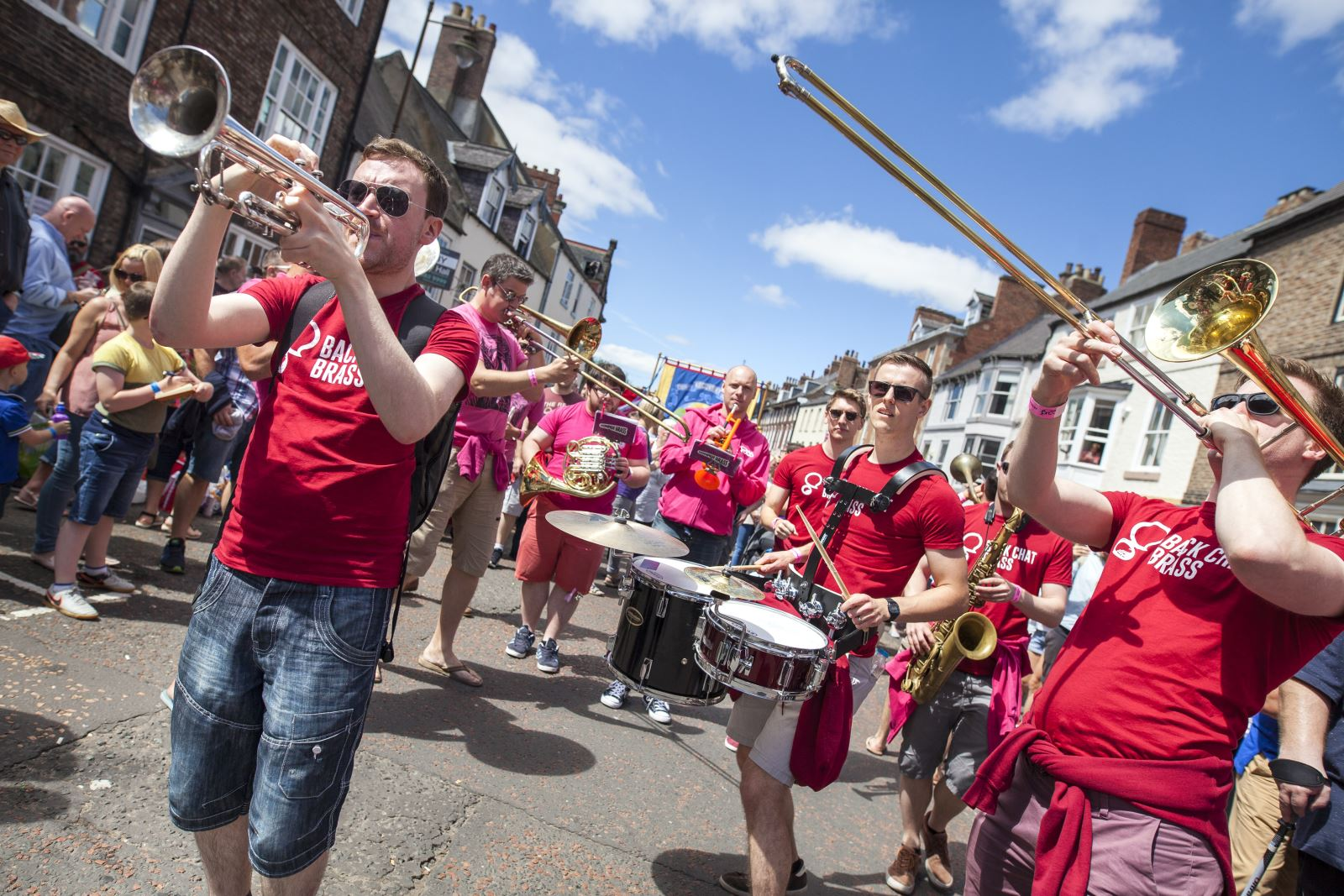 Durham BRASS Festival 2017 in the streets of the city