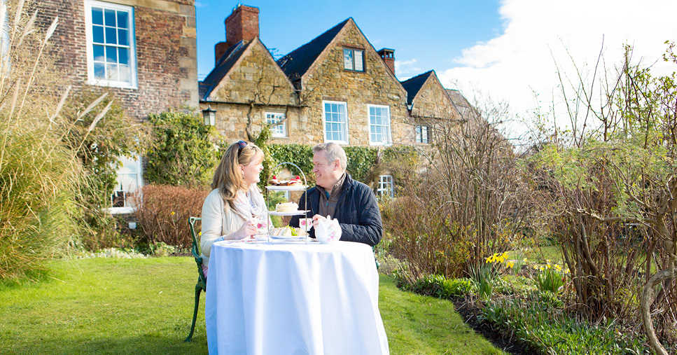 Afternoon Tea at Crook Hall and Gardens