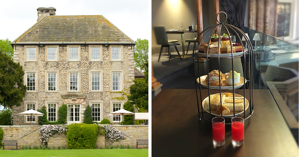 Headlam Hall and Afternoon Tea at Hotel Indigo