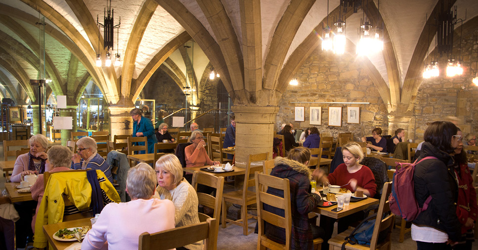 The Undercroft Restaurant in Durham Cathedral