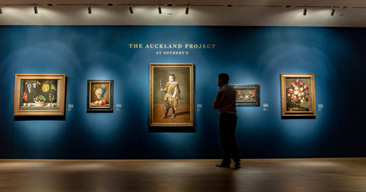 The Auckland Project at Sotheby's, New York courtesy of The Auckland Project