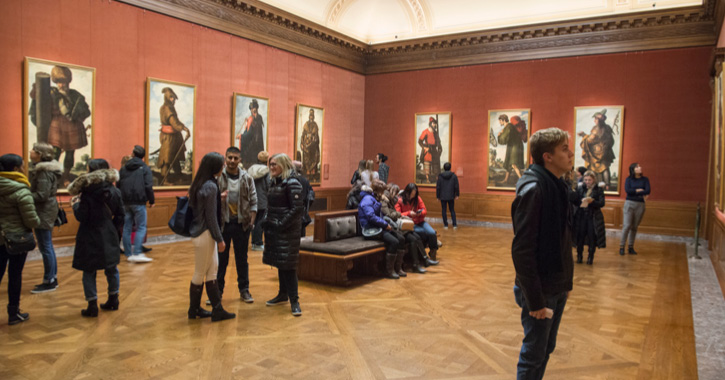 Zurbarán's Jacob and His Twelve Sons Paintings from Auckland Castle on display at the famous Frick Collection, New York.
