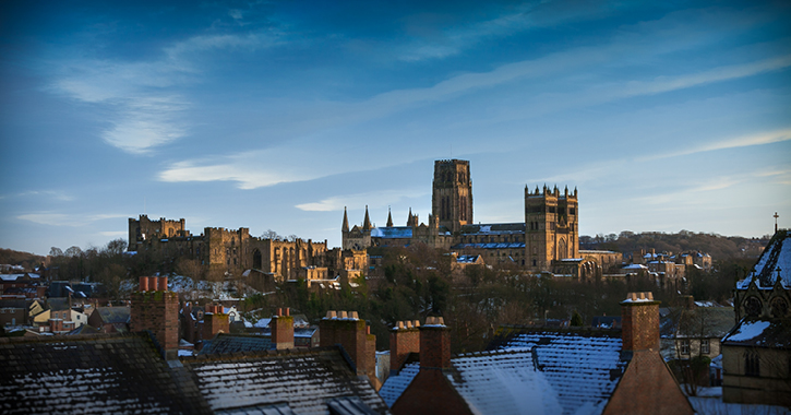 Durham City with Durham Cathedral