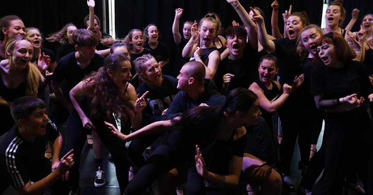 The Gala Theatre Stage School perform Chicago High School Edition