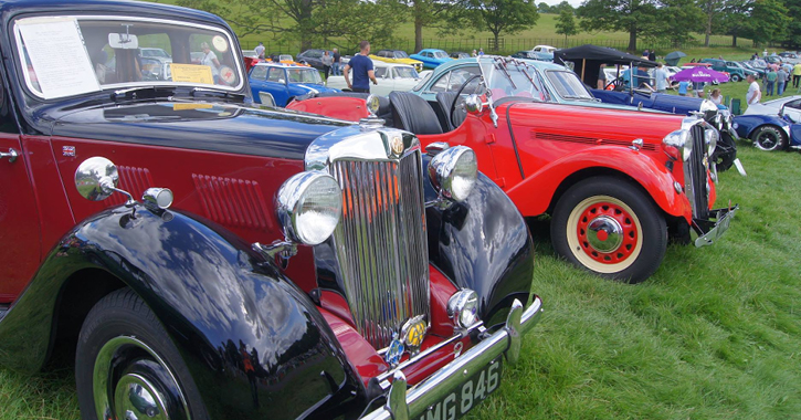 Classic Cars at Raby Castle