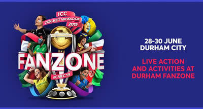 ICC Cricket World Cup Fanzone in Durham City