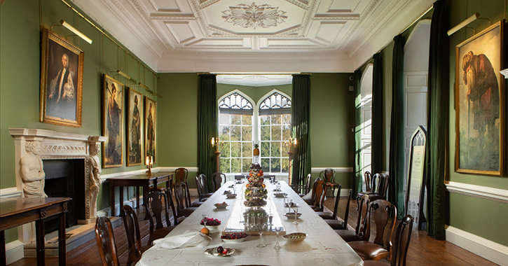 The Dining Room at Auckland Castle