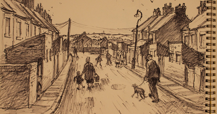 Norman Cornish sketchbooks at Palace Green Library