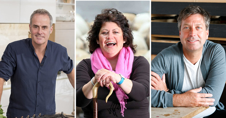Celebrity Chef line up at Seaham Food Festival - phil Vickery, Rachel Green and John Torode