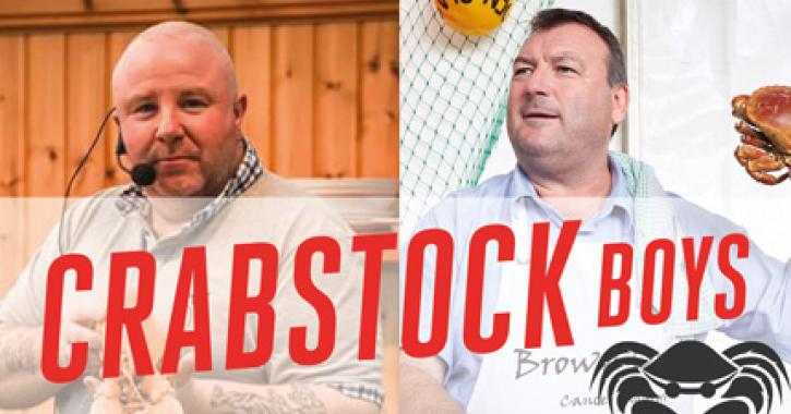 The Crabstock Boys at Seaham Food Festival