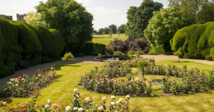 The Walled Gardens at Raby Castle