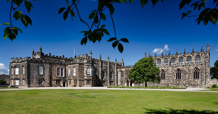 The grounds and exterior of Auckland Castle