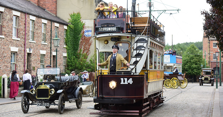 Transport through time at Beamish Museum