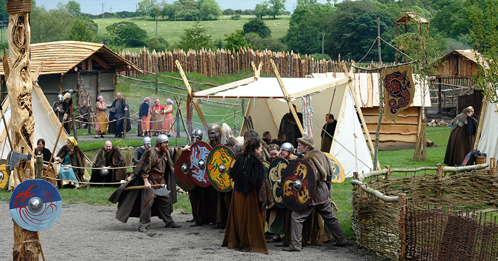 The Viking Village at Kynren