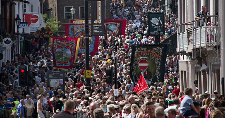 Durham Miners' Gala - The Big Meeting