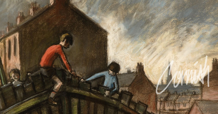 Norman Cornish at Durham Mining Museum