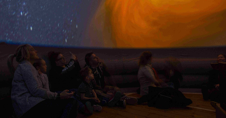 Pop up Planetarium