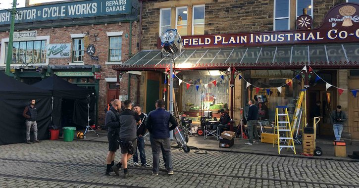 Downton Abbey movie filmed at Beamish Museum, County Durham