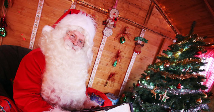 Father Christmas at Adventure Valley, County Durham