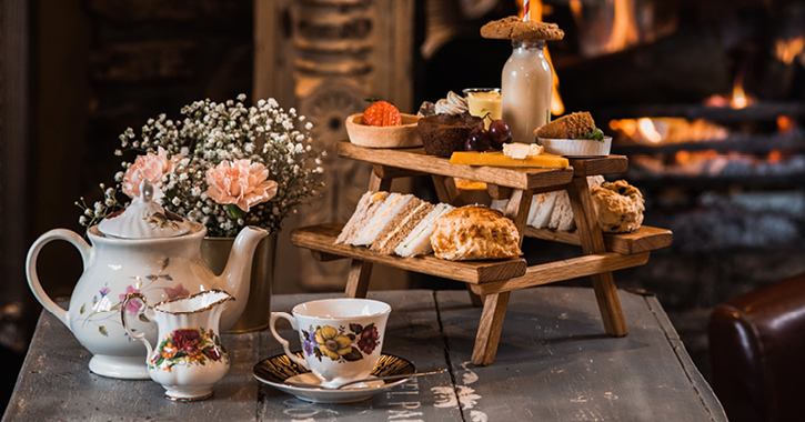 Afternoon Tea at the South Causey Inn, County Durham