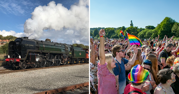 Locomotion and Durham Pride