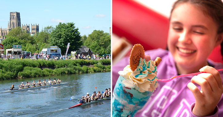 Durham Regatta and Seaham Food Festival