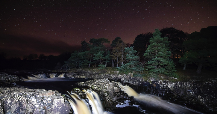 Low Force Waterfall in the Durham Dales