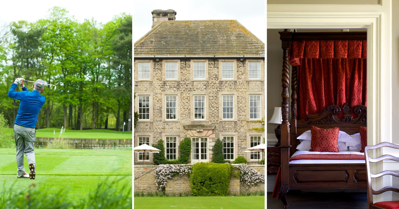 Headlam Hall Hotel in the Durham Dales