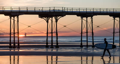 Catch a wave at Saltburn