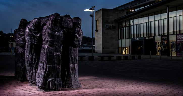 The Journey sculpture at Durham City