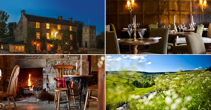 The Rose and Crown hotel in the Durham Dales