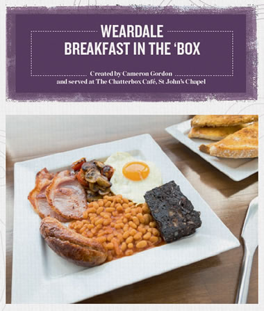 Weardale Breakfast in the Box