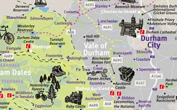 Maps of Durham