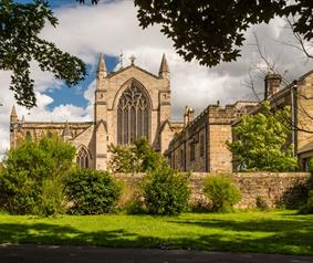 The Way of Light - Northern Saints Trails - Hexham Abbey