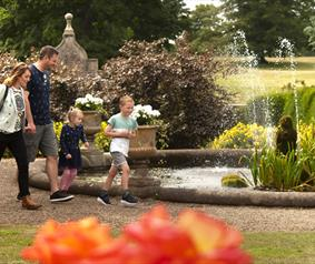 Raby Castle spring activities