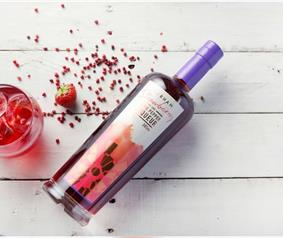 Strawberry and Pink Pepper Liqueur