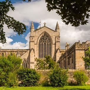 Hexham Abbey Northumberland external image