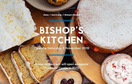 Bishop's Kitchen: Auckland Castle - The Auckland Project: to reopen June 2021