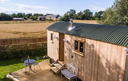 Shepherds Hut at Ingleton in Teesdale
