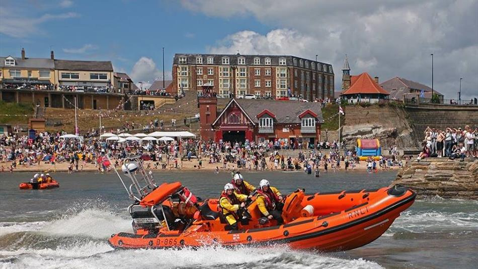 RNLI Cullercoats Lifeboat Station