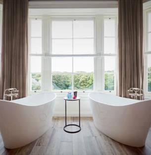 A peek inside Seaham Hall's new luxury romantic suite