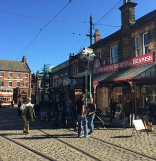 Filming Dark Angel at Beamish