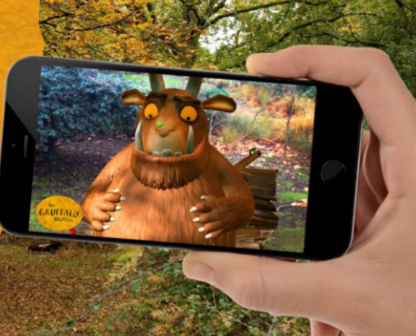 Spot the Gruffalo at Hamsterley Forest with new VR app