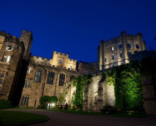 Durham Castle at night
