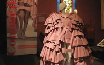 Catwalking Exhibition at The Bowes Museum