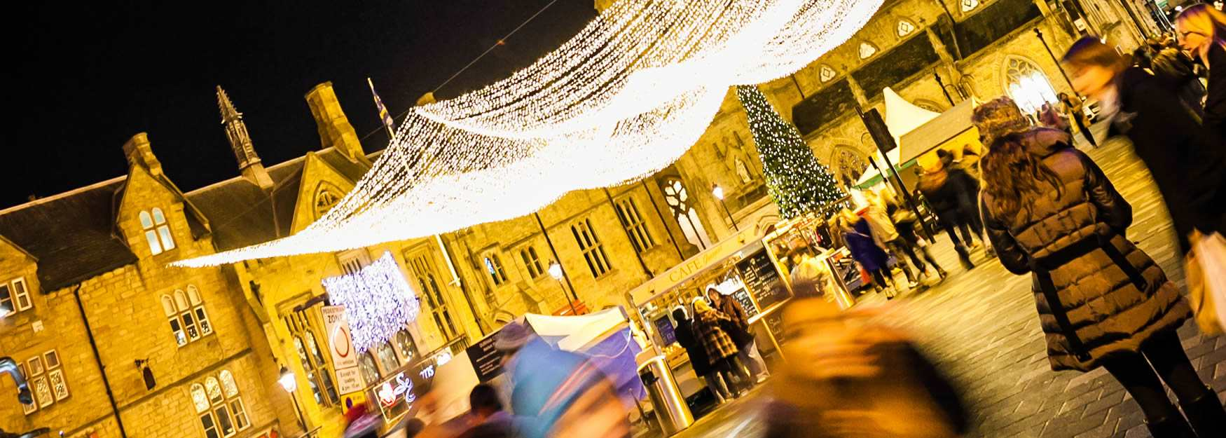 Enjoy a classic Christmas break in Durham