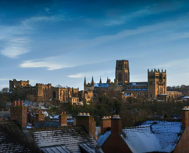 Durham City in Winter